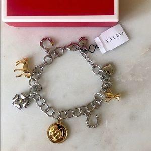 🌸NWT Talbots Equestrian Charm Bracelet